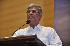 SA Chandrasekhar at Vishwaroopam on DTH Platform Press Meet Stills