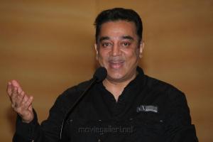 Kamal Hassan at Vishwaroopam on DTH Platform Press Meet Stills