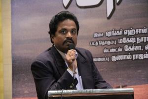 R.S.Vijaya Kumar (Dish TV) at Vishwaroopam on DTH Platform Press Meet Stills