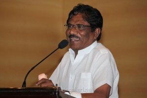 P.Bharathiraja at Vishwaroopam on DTH Platform Press Meet Stills