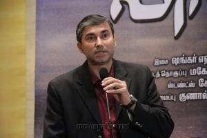 Vikas Singh (Airtel) at Vishwaroopam on DTH Platform Press Meet Stills