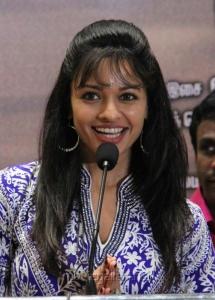 Actress Pooja Kumar at Viswaroopam on DTH Platform Press Meet Stills