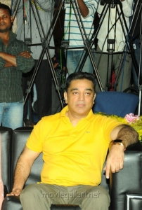 Actor Kamal Hassan New Photos at Viswaroopam Audio Launch