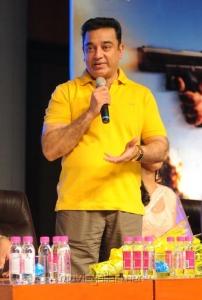 Actor Kamal Hassan Latest Photos at Viswaroopam Audio Release