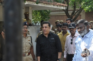 Kamal Hassan files a Complaint with ADGP