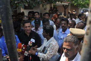 Kamal files a Complaint with ADGP