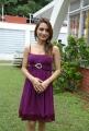 Telugu Actress Dhriti Hot Stills in Dark Pink Dress