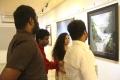 Painting inauguration by Shobi & Lalitha at Art Houz Photos
