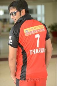 Actro Tarun in CCL Telugu Warriors Team Members 2013 Photos
