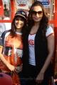 Genelia, Bipasha Basu at Telugu Warriors Taj Deccan to LB Stadium Photos