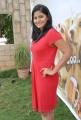 Telugu Heorine Tanusha Hot Photos in Red Frock Dress