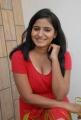 Telugu Actress Tanusha Hot Photos in Red Dress