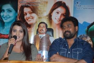 Tashu Kaushik, OS Avinash at Telugu Abbai Movie Press Meet Stills