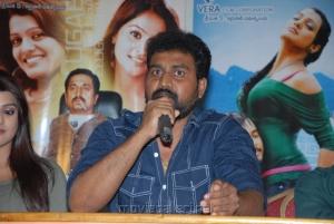 Director OS Avinash at Telugabbai Movie Press Meet Stills