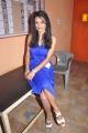 Tamil Actress Tanisha in Blue Skirt Hot Photos