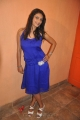 Tamil Actress Tanisha Hot Photos in Sleeveless Blue Skirt