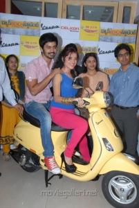 Mahat Raghavendra, Piaa Bajpai @ BBS Movie Team in Radio Mirchi Photos