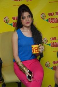 Telugu Actress Piaa Bajpai Latest Stills at Radio Mirchi Studios