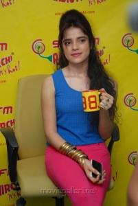 Actress Piya Bajpai Stills at Radio Mirchi for Back Bench Student Promotion