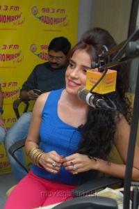 Actress Piya Bajpai Latest Stills at Radio Mirchi for Back Bench Student Promotion