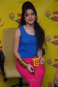 Actress Piaa Bajpai Stills at Radio Mirchi, Hyderabad