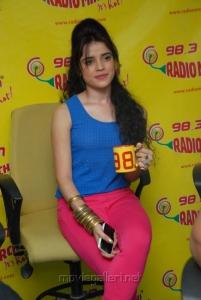 Telugu Actress Piaa Latest Stills at Radio Mirchi Studios