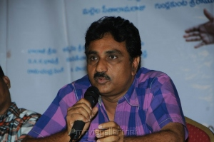 Director Satyam Bellamkonda at Mr.Manmadha Movie Release Date Announcement Photos