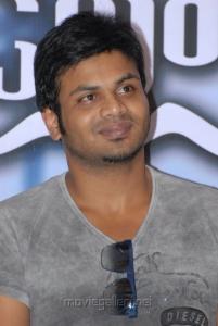 Manchu Manoj Kumar at Gundello Godari Movie Success Meet Stills