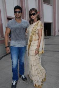 Manchu Manoj Kumar, Lakshmi Prasanna at Gundello Godari Movie Success Meet Stills