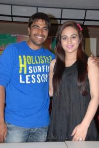 Srinivas, Aksha Pardasany at Rye Rye Movie Success Meet Stills