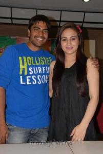 Srinivas, Aksha Pardasany at Rai Rai Movie Success Meet Stills