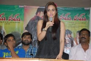 Actress Aksha at Rye Rye Movie Success Meet Stills