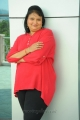 Telugu Actress Geetha Singh in Red Dress Photos