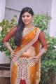 Telugu Actress Jiya Khan in Saree Hot Photos