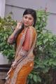 Telugu Actress Ziya Khan Hot Saree Photos