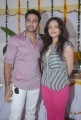 Navdeep, Sneha Ullal at Antha Nee Mayalone Movie Opening Stills
