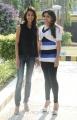 Erica Fernandes, Santhini at 555 Movie Press Meet Stills