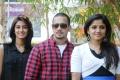 Erica Fernandes, Bharath, Santhini at 555 Movie Press Meet Stills