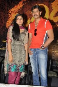 Deepsika, Jagapathi Babu at Rudhiram Press Meet Stills