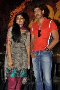 Deepshika, Jagapathi Babu at Rudhiram Movie Press Meet Stills