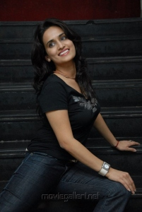 Telugu Actress Chinmayi Latest Photoshoot Stills in Black Dress
