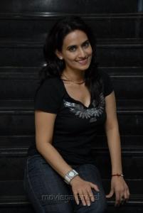 Chinmayi Ghatrazu Hot Latest Photo Shoot Stills in Black Dress