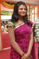 Telugu Actress Haasika Pictures at Love Language Movie Launch