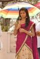 Telugu Actress Rakshita Cute Saree Pictures