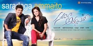 Varun Sandesh, Nisha Agarwal in Saradaga Ammaito Movie Wallpapers