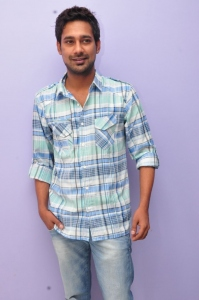Actor Varun Sandesh at Saradaga Ammaitho Success Meet Stills