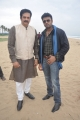 Devan, Riyaz Khan @ Thigar Movie Shooting Spot Photos