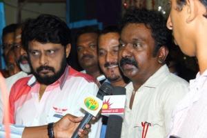 Vikraman, Sa Rajkumar @ Tamil Music Directors Association Swearing in Ceremony Stills