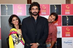 Shriya, Rana, Arya at SIIMA Awards 2013 Announcement Stills