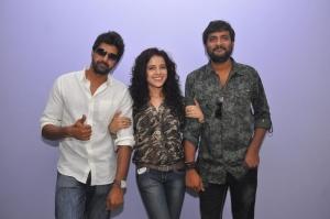 Naveen Chandra, Piaa Bajpai, M.Jeevan at Dalam Movie Success Meet Photos